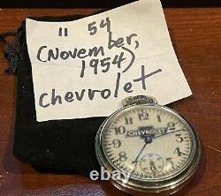 1954 54 Chevrolet Accessory Chevy GM Bel Air Belair OG Deluxe Vintage Original