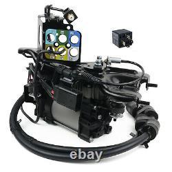 Air Suspension Compressor Pump + Bracket For Jeep Grand Cherokee WK2 68041137AD