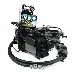 Fit Jeep Grand Cherokee Air Suspension Compressor withBraket 68041137AG 68204730AB