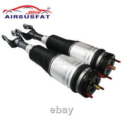 For Jeep Grand Cherokee WK2 Front Air Suspension Struts + Air Compressor Pump