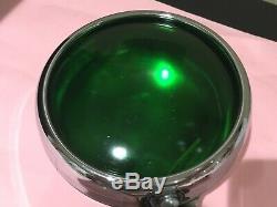 GREEN Okay Pass Teleoptic Sparton PM Co 400 Light Lamp Vintage GM Chevy Accesory