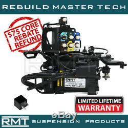 Jeep Grand Cherokee 11-17 REBUILT Air Suspension Compressor & New Valve Block