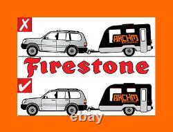 Jeep Grand Cherokee Wh/wk 2 Std Firestone Coil Rite Air Suspension Assist Bags
