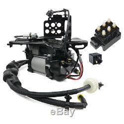 Luftfederung Kompressor + Halterung + Ventilblock +Relais Jeep Grand Cherokee IV