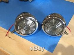 PAiR NOS Guide B-31 46 47 48 40's 50's Chevrolet GM Accessory Vintage GM Backup