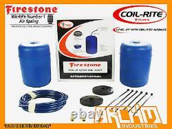 Rear Firestone Coil Rite Air Suspension Assist Bag For Kia Grand / Carnival