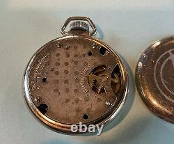 Willys Accessory Pocket Watch WW2 WWII Jeep GP Steering Wheel Holder Clock Rare