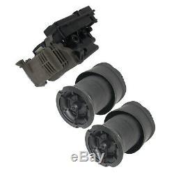 2 × Suspension Air Sacs À Ressort + 1 X Pompe Compresseur Fit Citroen C4 Picasso Grande