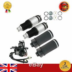 4 × + Compresseur D'air Suspensions Avec Support Fit 2011-2016 Jeep Grand Cherokee Wk2