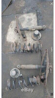 Citroen C4 Picasso Grand-arrière Ressort Suspension Pneumatique Kit De Conversion