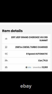 Jeep Grand Cherokee Suspension Aérienne Gauche 68258355ab IV Wk Wk2 3.0 Crd V6 2017
