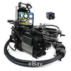 Luftfederung Kompressor + Halterung + Relais Jeep Grand Cherokee Wk2 2011-2018