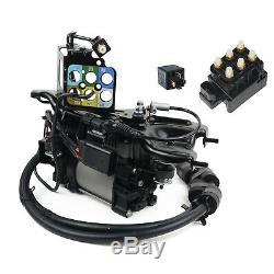 Luftfederung Kompressor + Halterung + Ventilblock + Relais Jeep Grand Cherokee IV