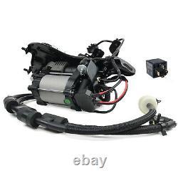 Pompe Compresseur De Suspension D'air + Support Pour Jeep Grand Cherokee Wk2 68041137ad