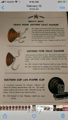 Vintage K Star K-star Coat Hanger Années 1930 Chevy Gm Accessoire Bombe Lowrider $